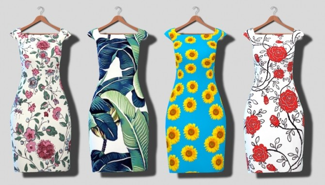 Dresses at Descargas Sims image 7917 670x383 Sims 4 Updates