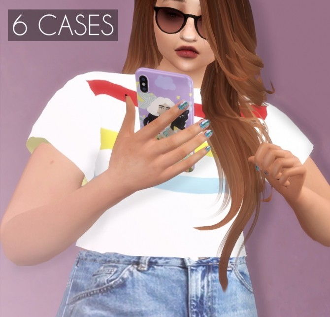 Sims 4 iPhone XS With Case Functional at Descargas Sims
