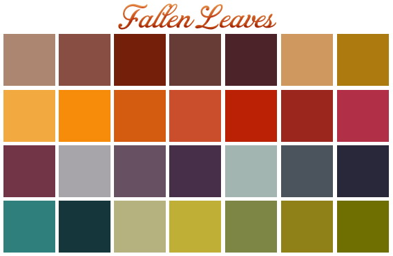 Fallen leaves palette at Midnightskysims image 793 Sims 4 Updates