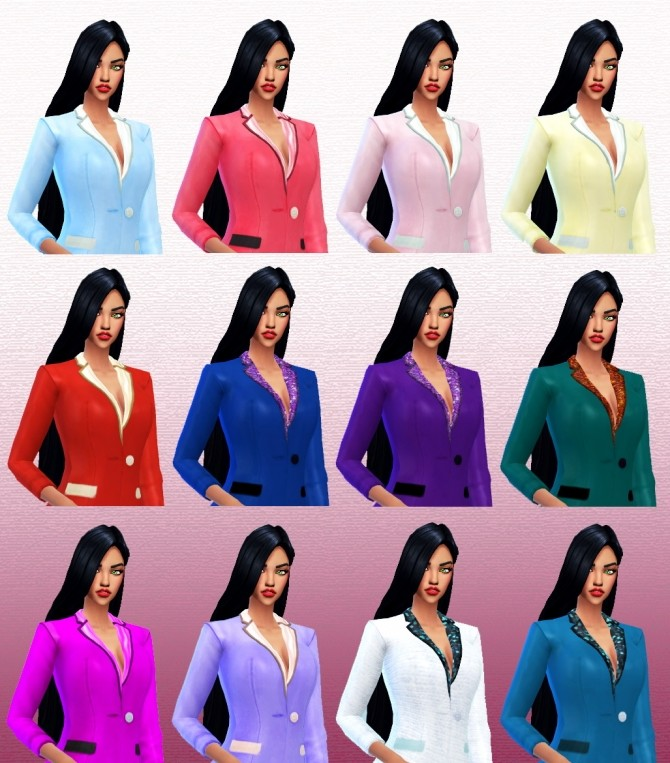 Suit at Guemara image 798 670x763 Sims 4 Updates