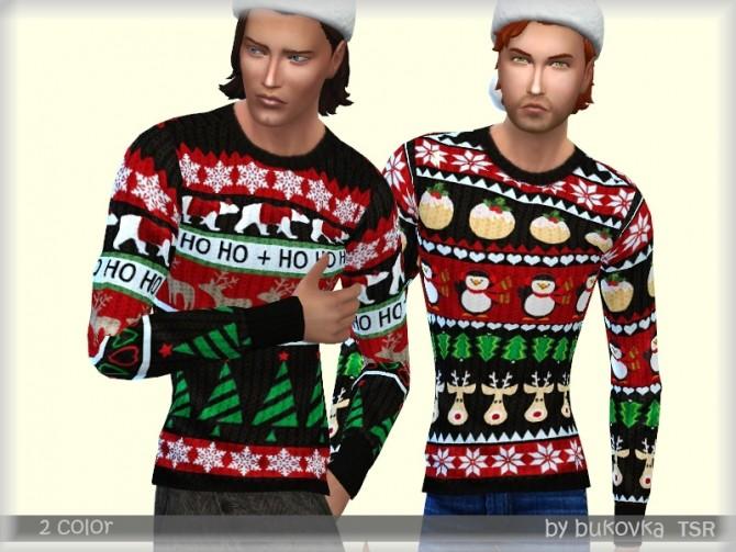 Sims 4 Holiday Sweater by bukovka at TSR