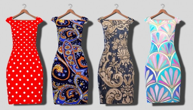 Dresses at Descargas Sims image 8120 670x383 Sims 4 Updates