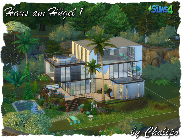 House on the hill 1 by Chalipo at All 4 Sims image 8121 Sims 4 Updates