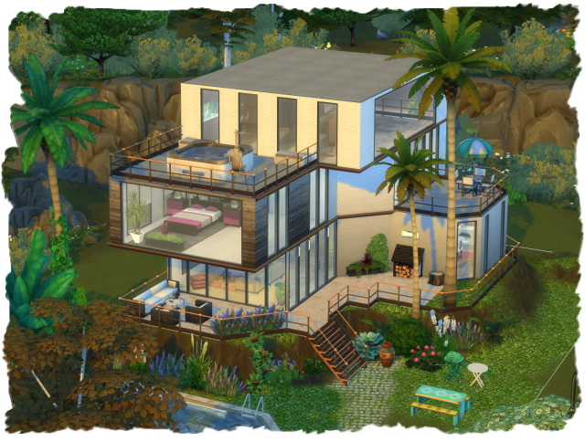 House on the hill 1 by Chalipo at All 4 Sims image 8316 Sims 4 Updates