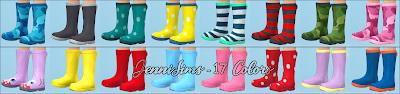Sims 4 Boots Base Game compatible at Jenni Sims