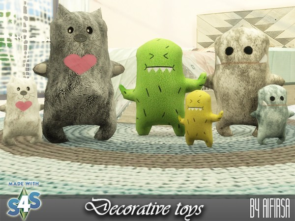 Sims 4 Decorative toys at Aifirsa