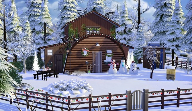Bears House at Vicky SweetBunny image 8914 670x386 Sims 4 Updates