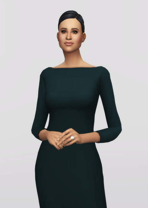 Basic pencil dress V2 at Rusty Nail image 8919 Sims 4 Updates