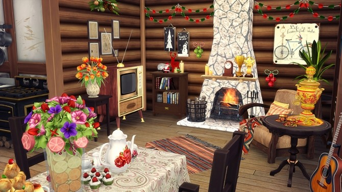 Bears House at Vicky SweetBunny image 9014 670x377 Sims 4 Updates