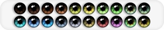 Sims 4 Yahline Eyes at Nords Sims