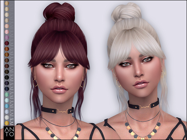 Ivy Hairstyle by Anto at TSR image 919 Sims 4 Updates