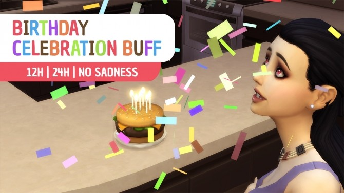 Birthday Celebration Buff by Nova JY at Mod The Sims image 9219 670x377 Sims 4 Updates