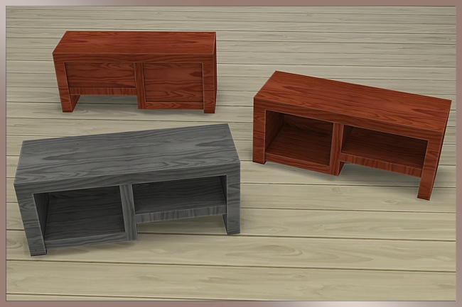 Sims 4 Sideboard Luv by Cappu at Blacky's Sims Zoo