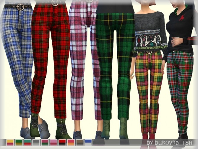 Plaid Pants By At Tsr 187 Sims 4 Updates