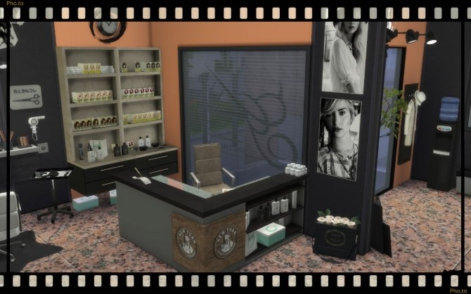 Sims 4 Beauty saloon at Nagvalmi