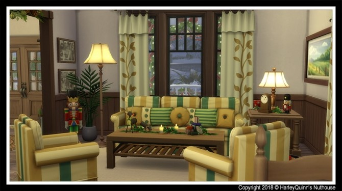 Sims 4 Christmas Home 2018 at Harley Quinn's Nuthouse