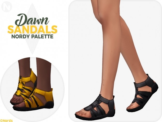 Dawn Rugged Sandals at Nords Sims image 9513 670x503 Sims 4 Updates