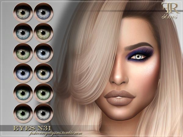 FRS Eyes N31 by FashionRoyaltySims at TSR image 96 Sims 4 Updates