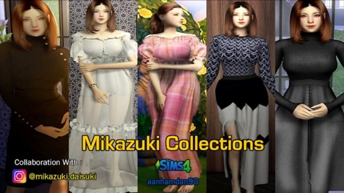 Sims 4 Mikazuki Collections at Aan Hamdan Simmer93