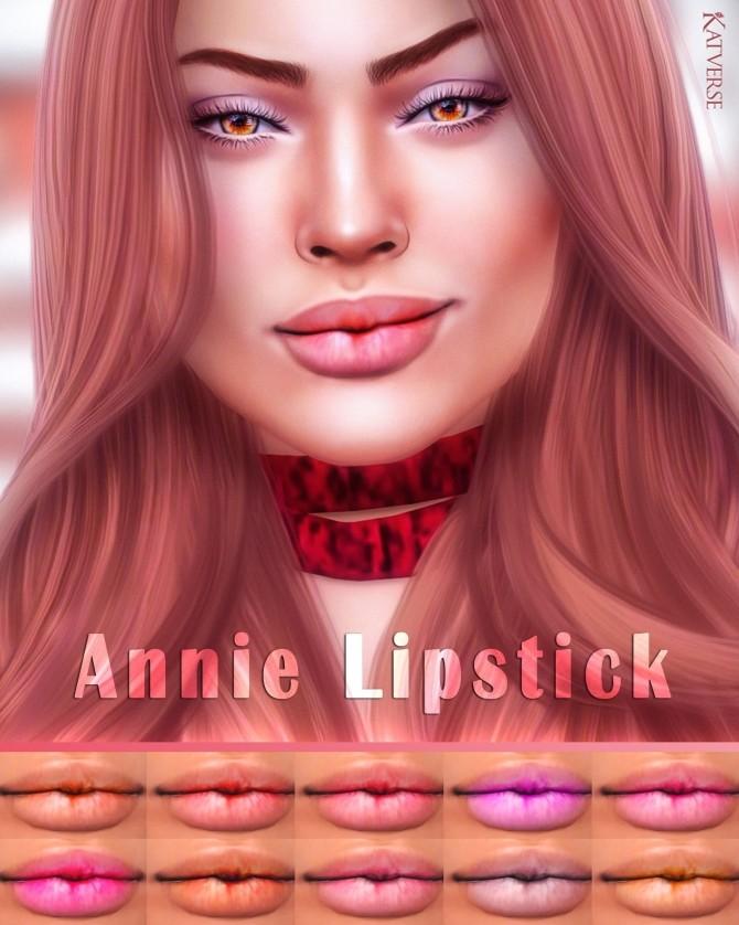 Annie Lipstick at Katverse image 966 670x838 Sims 4 Updates