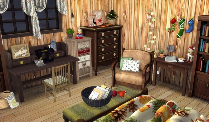 Bears House at Vicky SweetBunny image 9711 670x391 Sims 4 Updates