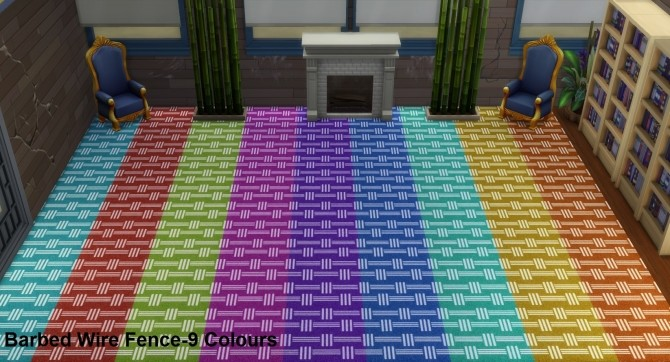 Sims 4 Novalty Carpet SET 20 Patterns 130 colours by wendy35pearly at Mod The Sims