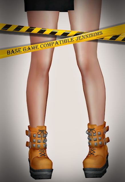 Collection Boots 20 designs at Jenni Sims image 981 Sims 4 Updates