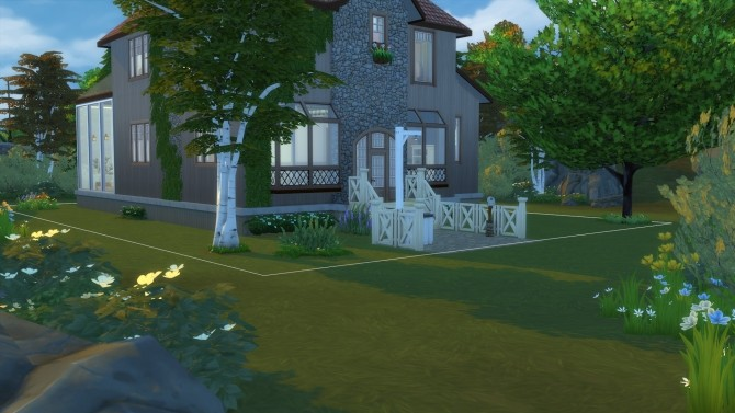 Sims 4 45 Blue Bird Ln. (No CC) by Amondra at Mod The Sims