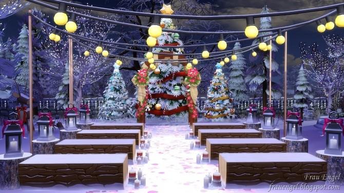 Christmas Wedding venue at Frau Engel image 983 670x377 Sims 4 Updates