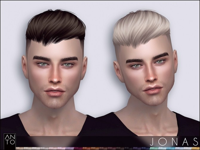 Sims 4 Jonas Hairstyle by Anto at TSR