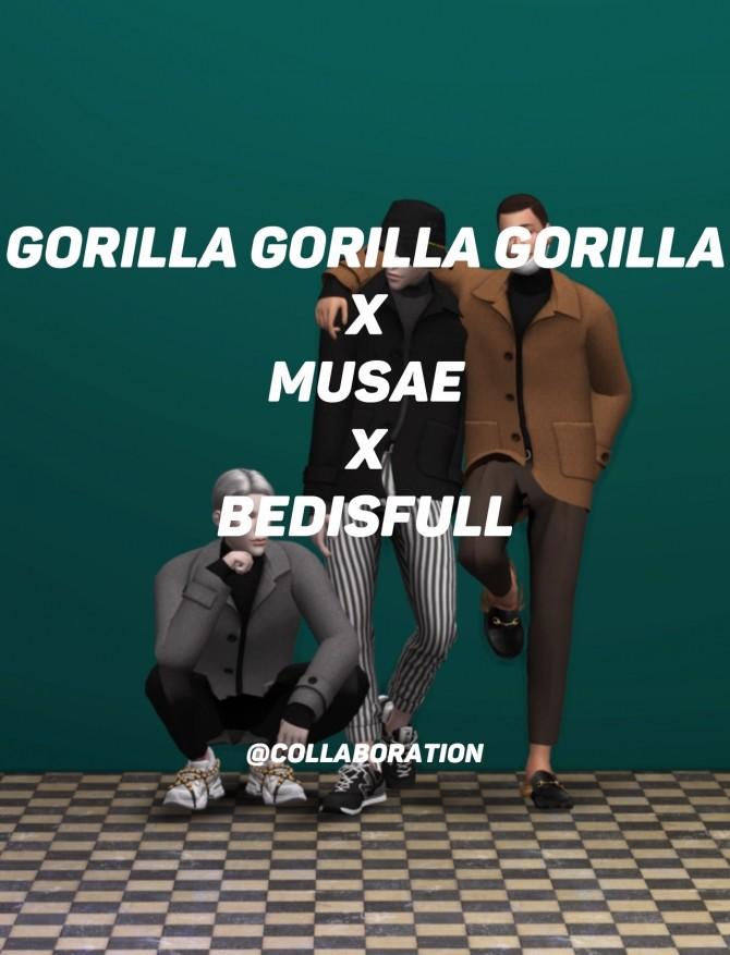 Sims 4 Gorilla x MUSAE x BEDISFULL Collaboration at EFFIE