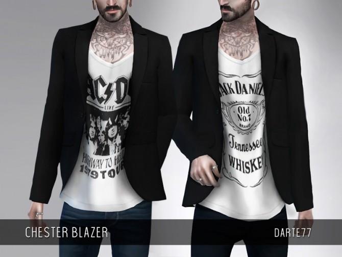 Sims 4 Chester Blazer at Darte77