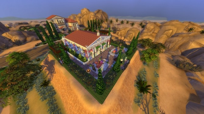 Sims 4 Temple of Simsikos by Auwburn at Mod The Sims