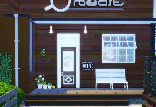 Sims 4 CAFE blackboard & Frame at Ahri Sim4