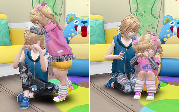 Brothers & Sisters pose 06 at A luckyday image 1052 Sims 4 Updates