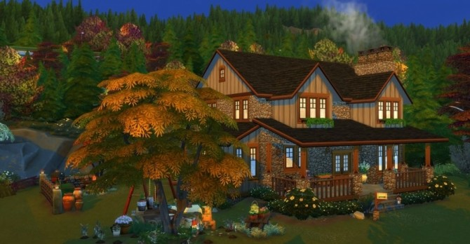 Eloane house by Chanchan24 at Sims Artists image 1054 670x348 Sims 4 Updates