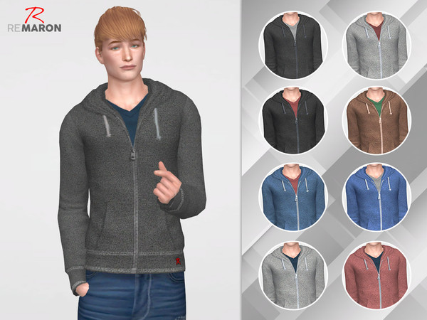 Hoodie casual M by remaron at TSR image 1060 Sims 4 Updates