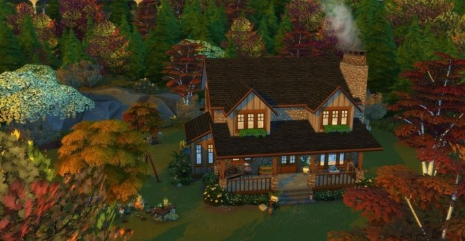 Eloane house by Chanchan24 at Sims Artists image 1064 670x348 Sims 4 Updates