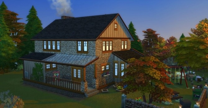Eloane house by Chanchan24 at Sims Artists image 1074 670x348 Sims 4 Updates