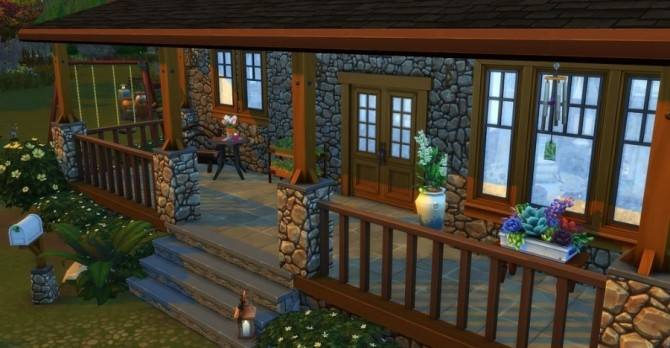 Eloane house by Chanchan24 at Sims Artists image 1084 670x348 Sims 4 Updates