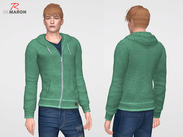 Hoodie casual M by remaron at TSR image 11100 Sims 4 Updates