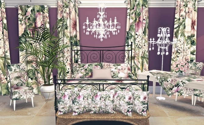 Flower Delicacy Textyle Collection by Sooky at Blooming Rosy image 11110 670x410 Sims 4 Updates