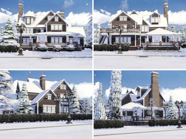Little Snowflakes house by MychQQQ at TSR image 1126 Sims 4 Updates