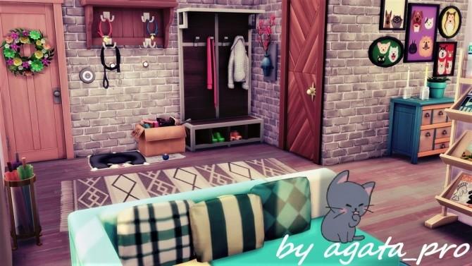 Sims 4 Blue Bird Loft at Agathea k