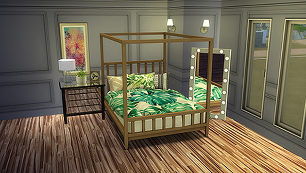 Decorative HD Triple Bed Pillows by SimVault Renna at Blooming Rosy image 1165 Sims 4 Updates