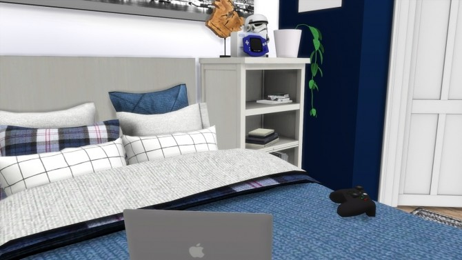 TEENAGE BOY BEDROOM at MODELSIMS4 image 12110 670x377 Sims 4 Updates