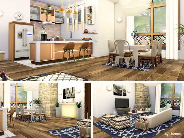 Sims 4 New Life house by Lhonna at TSR