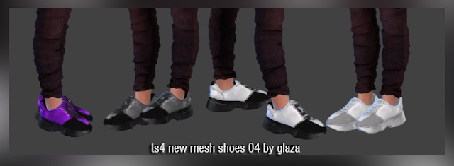 Sims 4 Shoes 04 at All by Glaza