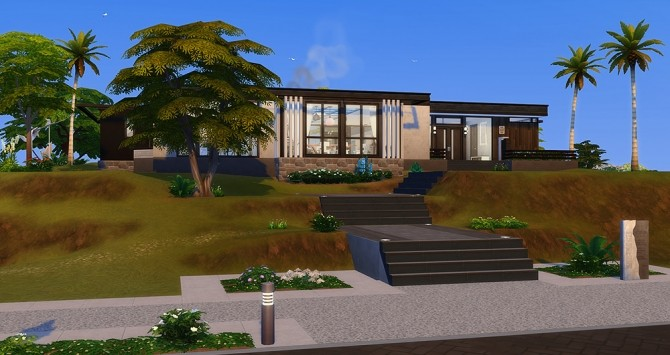 Sims 4 Orgueil house at Simsontherope