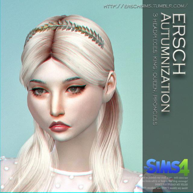 Autumnization Crowns at ErSch Sims image 1302 Sims 4 Updates
